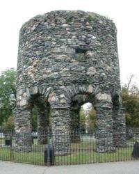 Newport Tower, Rhode Island - Jesus and Mary Magdala in America