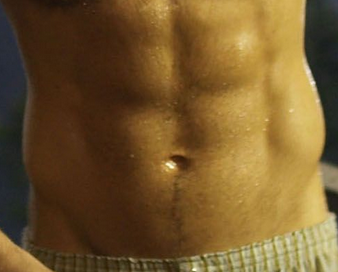 Male Body Type One (BT1) Midriff/Abdominal Muscles
